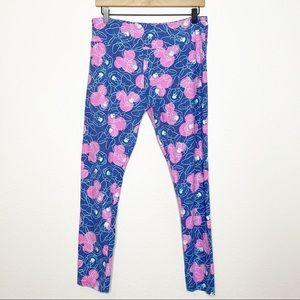 [LuLaRoe] Blue Pink Minnie Mouse Disney Leggings